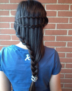 waterfall ladder braid combo