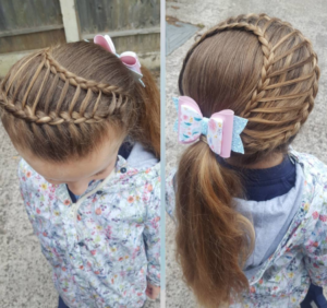 wrap around ladder braid