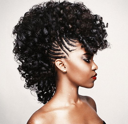 35 Frohawk Styles And How To Guide For Natural Hair Women