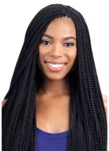 crochet individual braids long