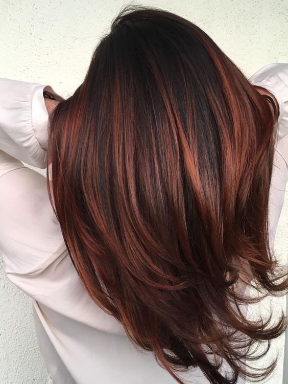 Medium Natural Copper Hair Color