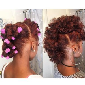 perm rods frohawk