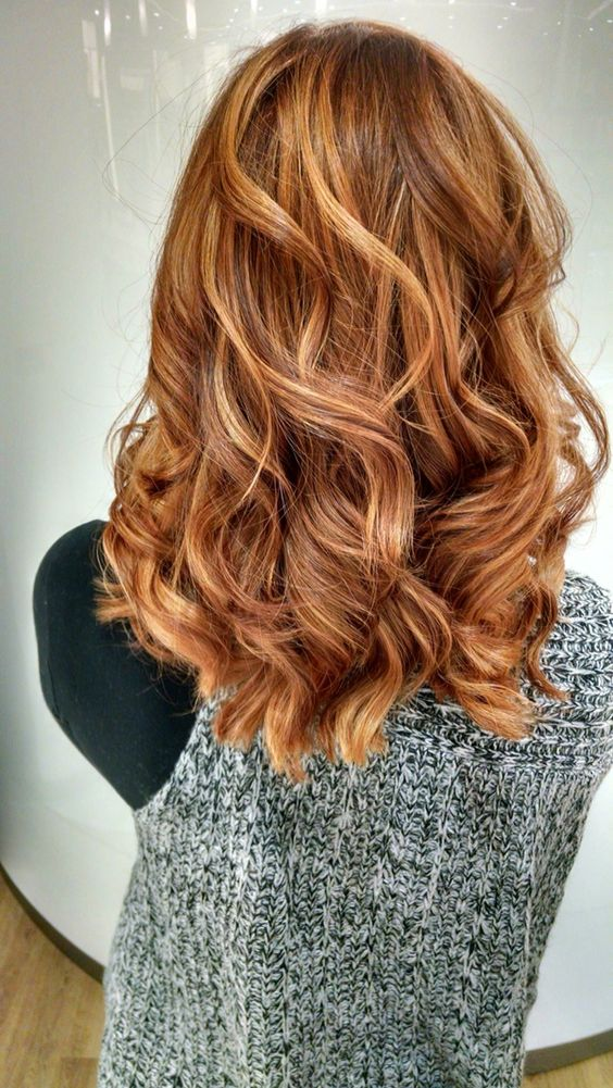 Red Highlights Ideas For Blonde Brown And Black Hair Part 17