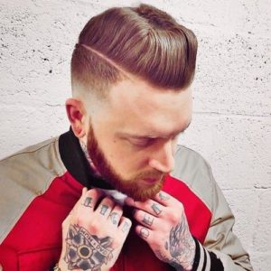 high sides pompadour