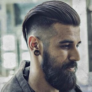 long slick with undercut