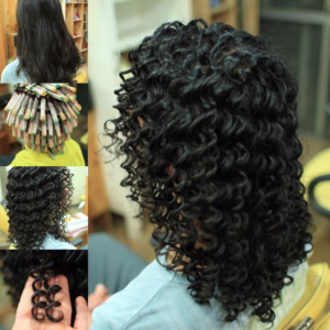 mid length spiral perm
