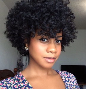 Afro Twist Out