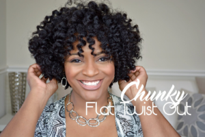 Chunky Flat Twist Out