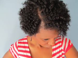 Flat Twist Out For Thin Natural Hair