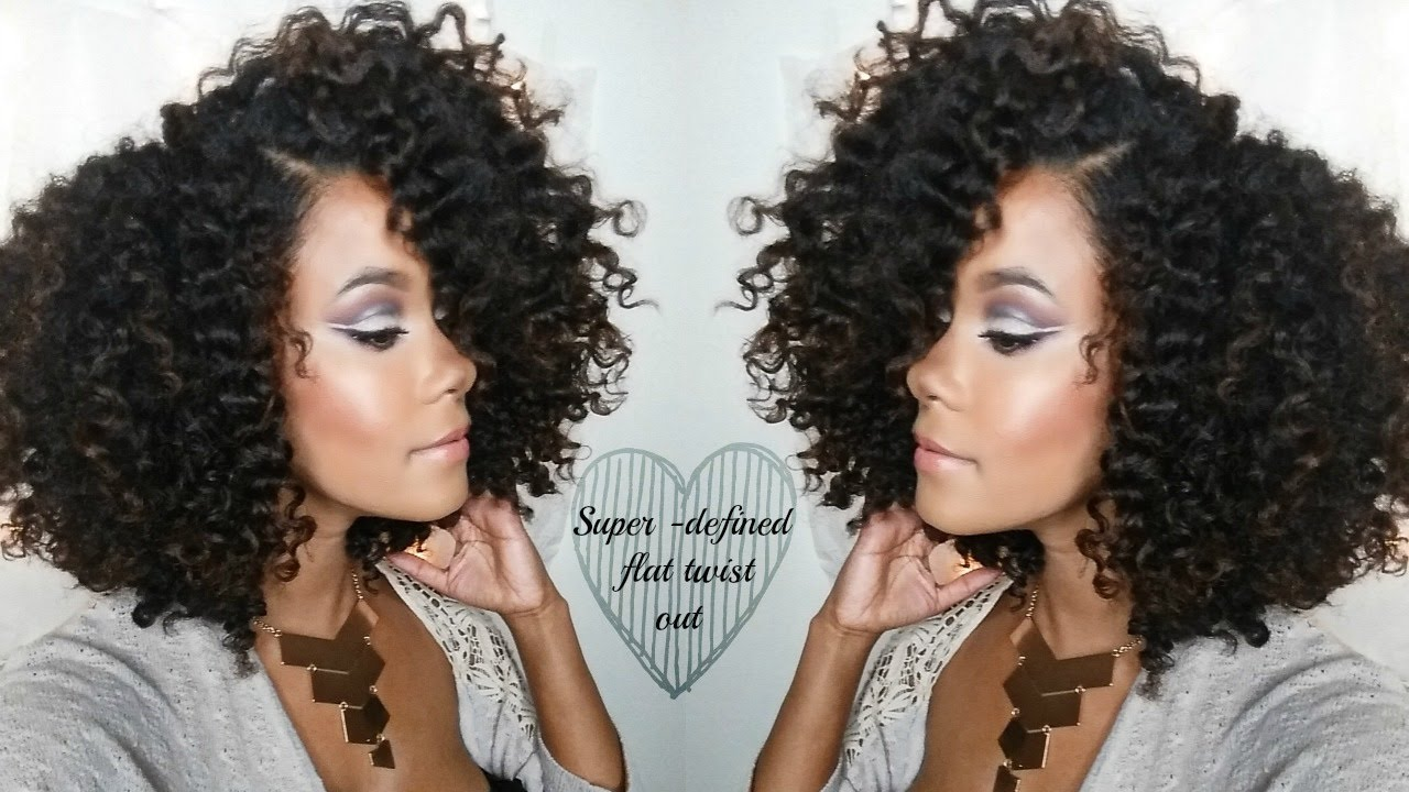 How To Do A Twist Out On Natural Hair