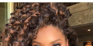 Ombre Crochet Curls