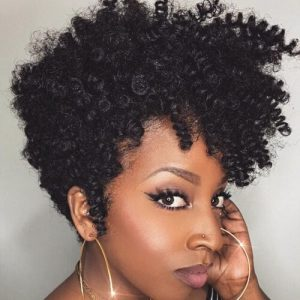 Twist Out With Clip Ins