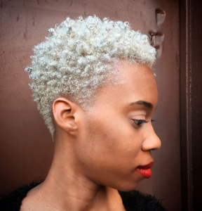 platinum dyed twa hair