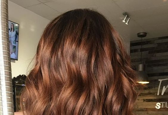 Auburn Hair Color Styles