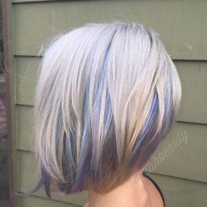pastel Bob Haircuts