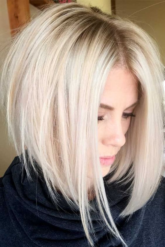 Layered Bob Hairstyles For Fine Thin Hair 47