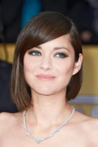 Sleek Asymmetrical Bob Cut