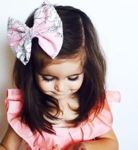 bow hairstyles for girls
