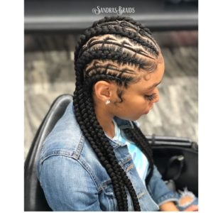 african fishbone braid hairstyles