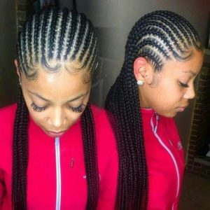 cornrows baby hair