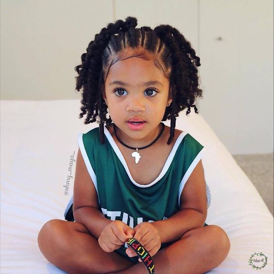 Little Black Girl Hairstyles  30 Stunning Kids Hairstyles -9898