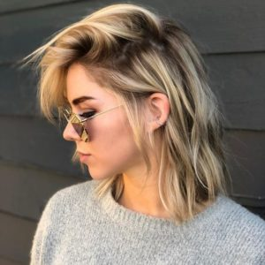 side hairstyles thin hair