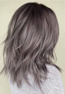 grey Finish hair color