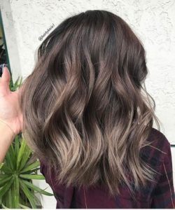 Mushroom Ash Brown Highlights