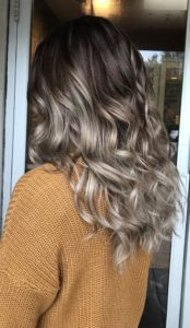 Curly Hair mashroom color