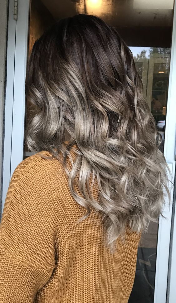 Light Ash Brown Hair With Blonde Highlights