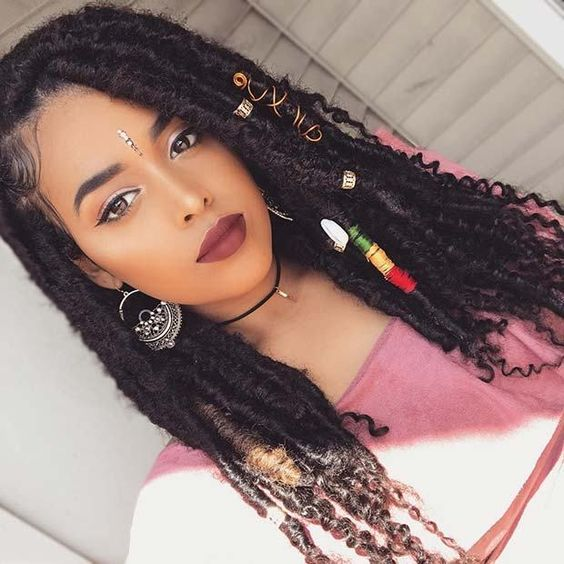 Faux Locs Glam
