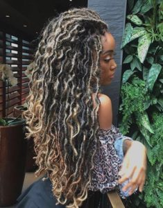 bronde mermaid locs