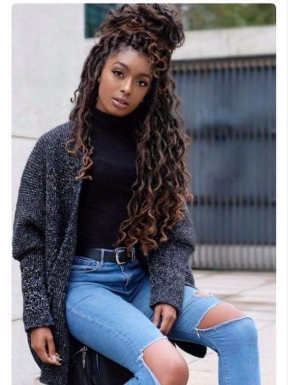 80 Long and Short Faux Locs Styles and How to Install Them