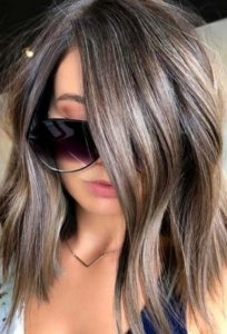 Mushroom Brown Hair Color Ideas And Looks