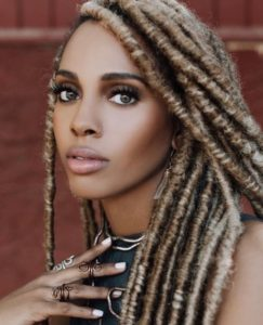 honey brown locs
