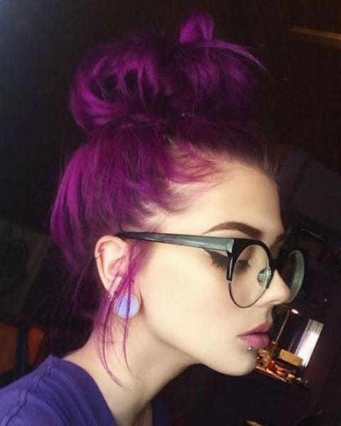 manic panic Purple Pink Magenta