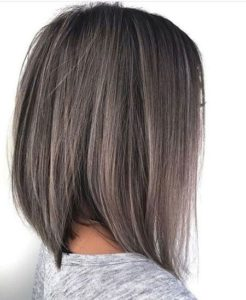 thin blonde highlights