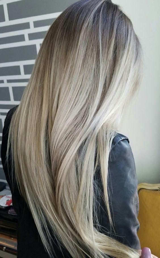Balayage Straight Hair | Straight Hair Balayage Hairstyles