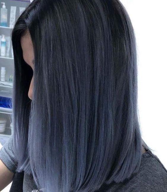 Straight Hair Balayage Hairstyles