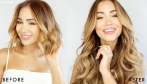 Blond Balayage Hair Extensions