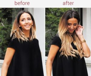 Clip In Hair Extensions for Ombre