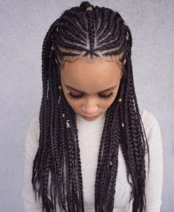 Fulani lemonade braid