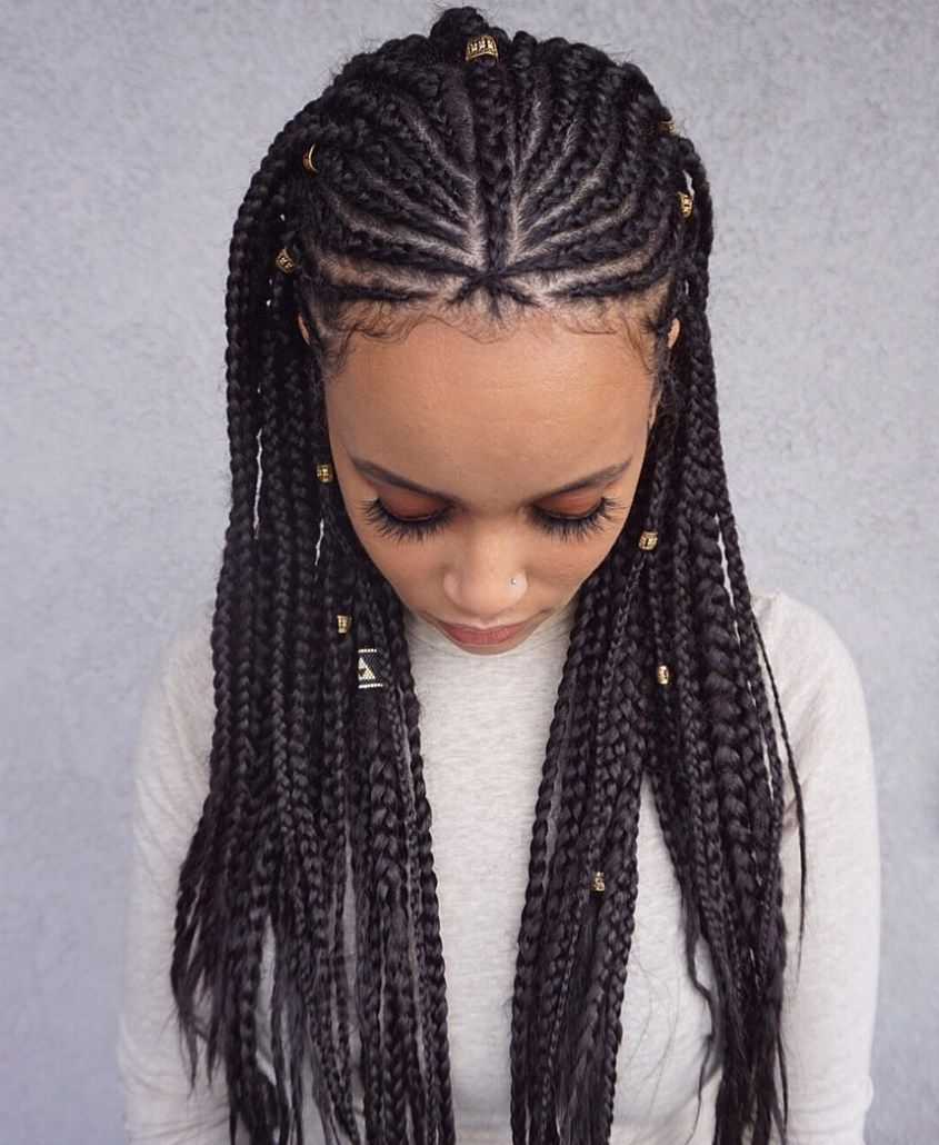 35 Lemonade Braids Styles For Elegant Protective Styling