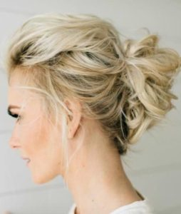 The Messy Bun for Thin Hair