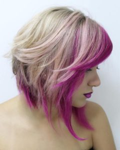 Subtle Magenta Highlights