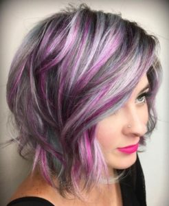 Violet Pink Highlights