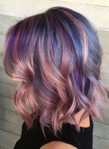Rainbow and Pink Hair
