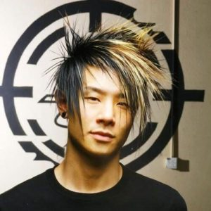 Spiky Punk Hair for Men