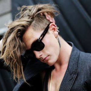 Short Sides Punk Hairstyle for Men