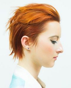 Sleek Punk Hairstyle for Women